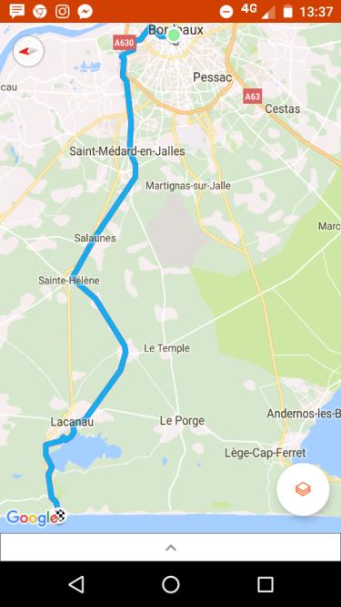Bordeaux Lacanau