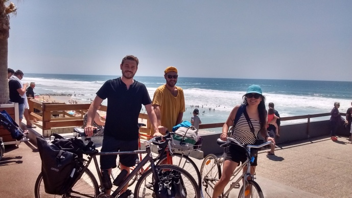 Cycle trip to Lacanau beach