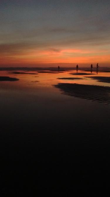 Sunset at Lacanau