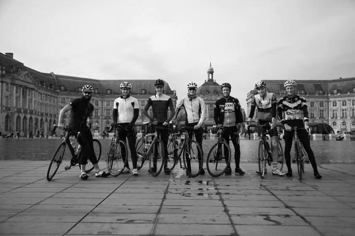 Superides club group bike rides bordeaux
