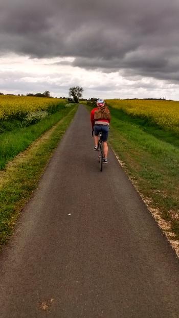 Bordeaux Creon cycle path