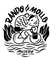 Rando Mollo bikepacking group ride Bordeaux