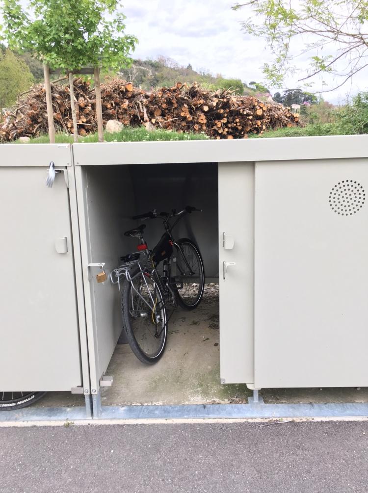 bike storage café vélo