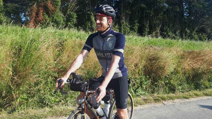 Nico Malet trancontinental Musette merino jersey
