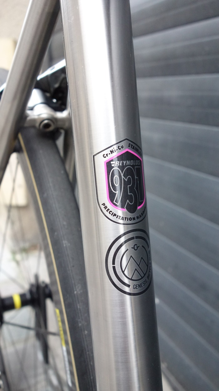 Reynolds 931 stainless steel bicycle