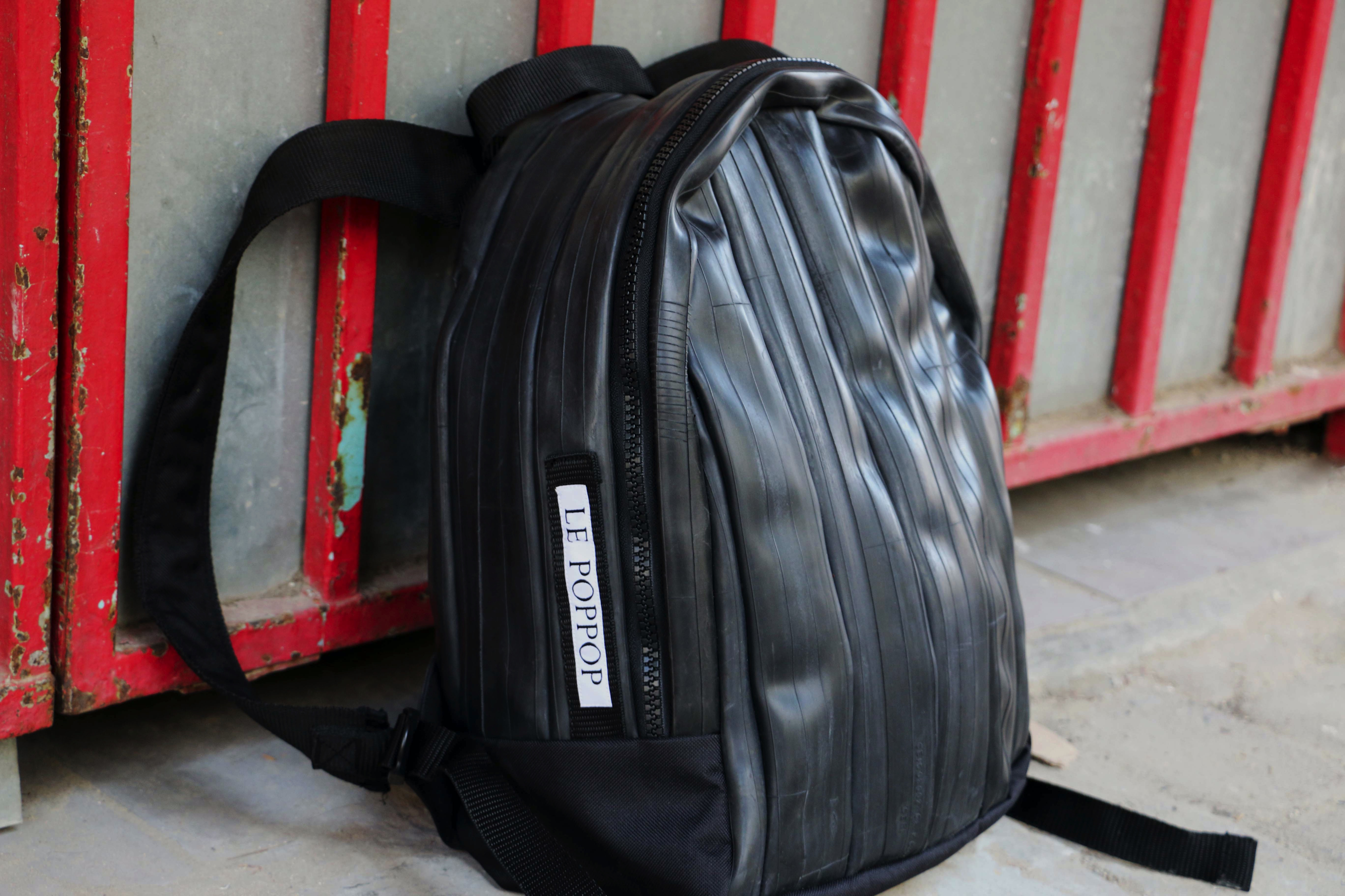 Recycled Backpack Black