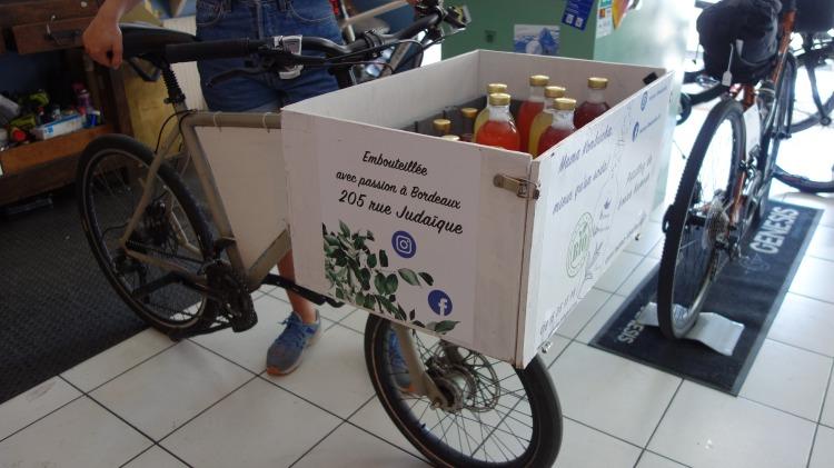vélo cargo livraison bordeaux